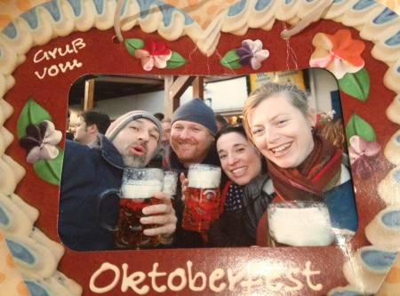 The only evidence we have of Oktoberfest.